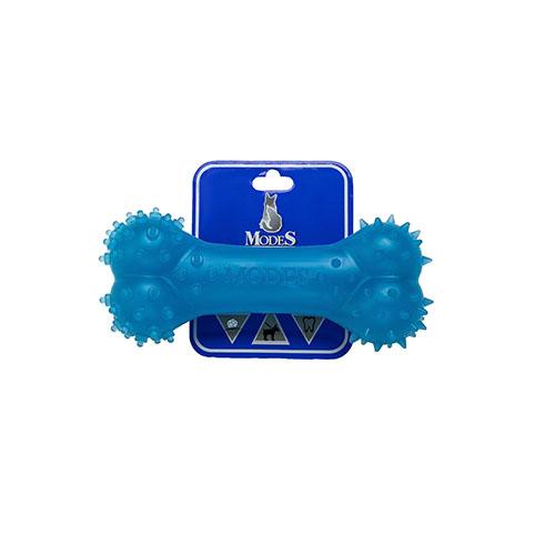 Кость MODES Denta голубая, игрушка для собак