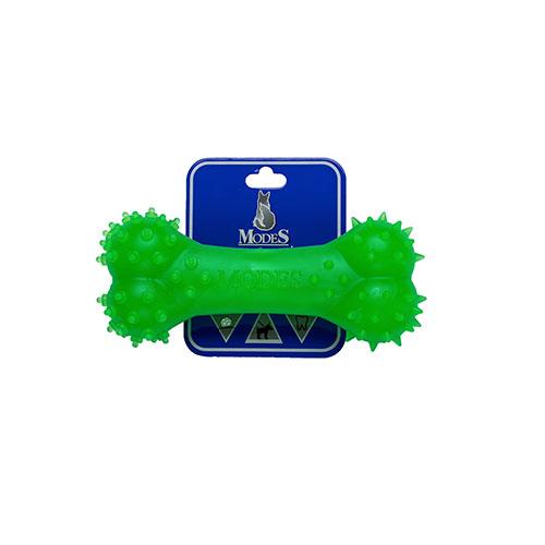 Кость MODES Denta зеленый, игрушка для собак