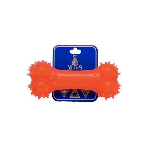 Кость MODES Denta оранжевая, игрушка для собак