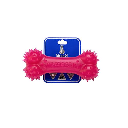 Кость MODES Denta розовая, игрушка для собак