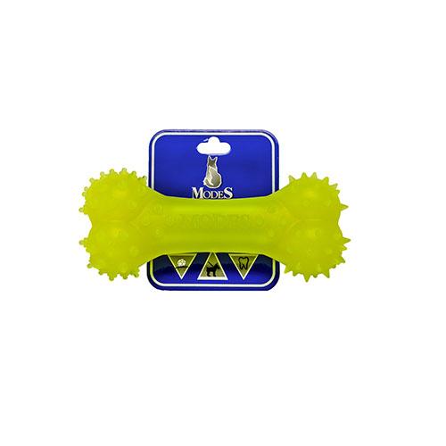 Кость MODES Denta желтая, игрушка для собак