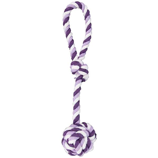 Flamingo Cotton Rope Knot - Фламинго котон роуп нот канат с одним узлом игрушка для собак
