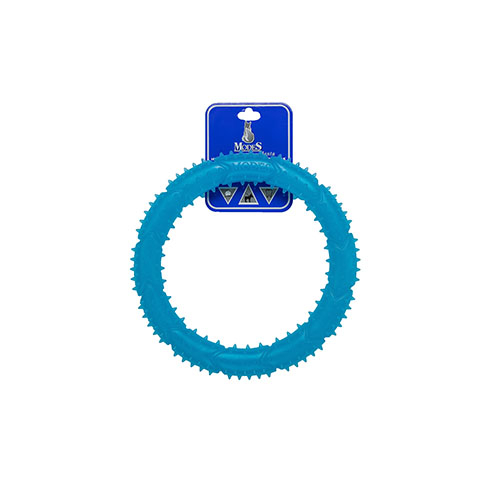 Кольцо MODES Denta голубое, игрушка для собак