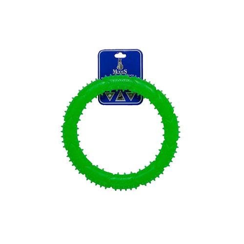 Кольцо MODES Denta зеленый, игрушка для собак
