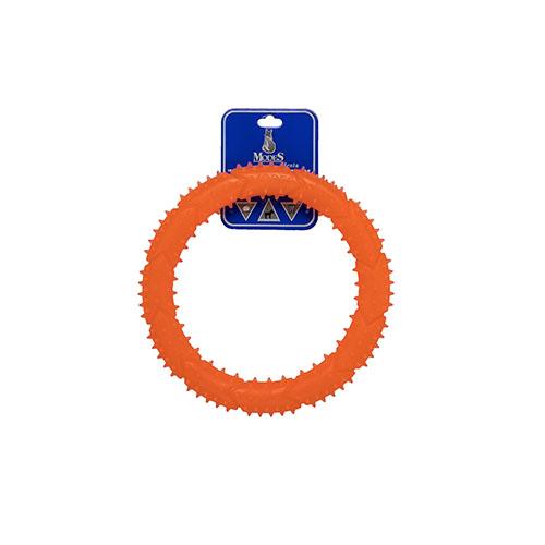 Кольцо MODES Denta оранжевое, игрушка для собак