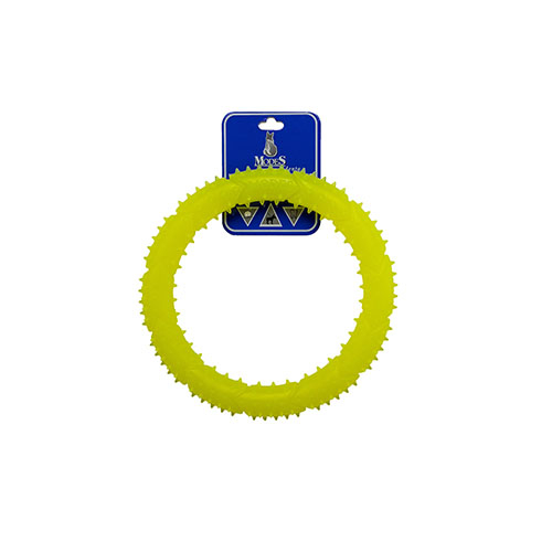 Кольцо MODES Denta желтое, игрушка для собак