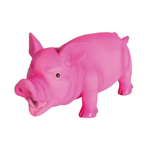 Trixie Латексная игрушка для собак (Свинья хрюкающая)