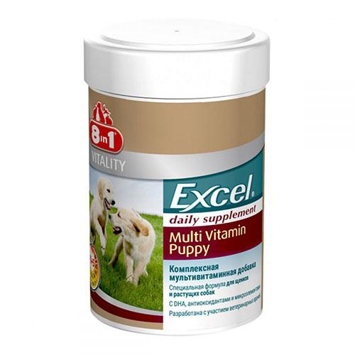 8in1 Vitality Puppy Multi Vitamin витамины для щенков