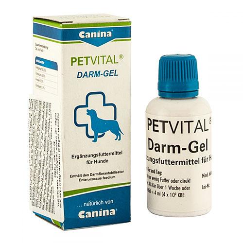 Canina Petvital Darm Gel Устраняет проблемы с пищеварением у собак