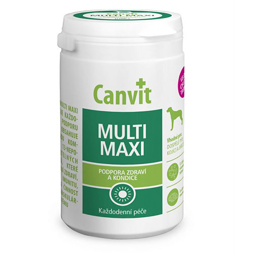 Canvit Multi Maxi for dogs - Витаминная кормовая добавка для собак больших пород