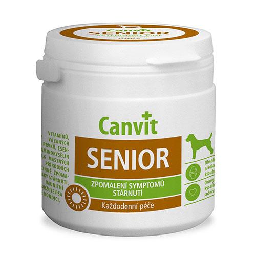 Сanvit Senior for dogs - Кормовая добавка с витаминами и минералами для собак старше 7 лет