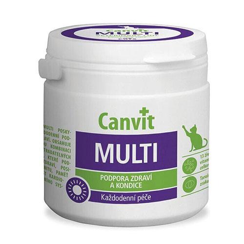Canvit Multi for cats - Витаминная кормовая добавка для кошек
