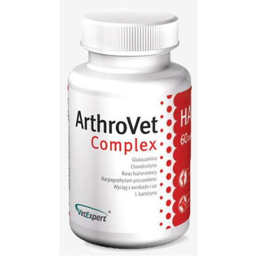 VetExpert ArthroVet HA Complex профилактика и лечение нарушений функций суставных хрящей и суставов