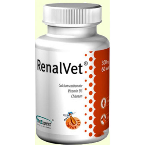VetExpert RenalVet для собак и кошек с симптомами хронической почечной недостаточности