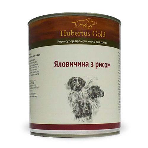 Hubertus Gold. Хубертос. Говядина с рисом