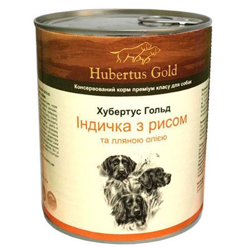 Hubertus Gold. Хубертос. Индейка с рисом