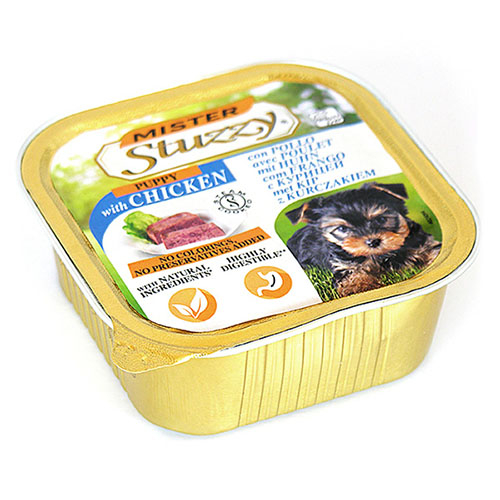 Mister Stuzzy Dog Puppy МИСТЕР ШТУЗИ ПАППИ корм для щенков, паштет