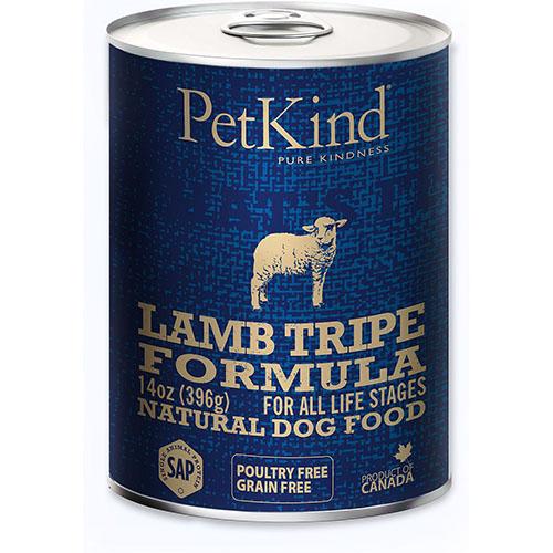 PETKIND САП Ламбо ТРАЙП ФОРМУЛА консервы монопротеин для собак с ягненком и ягнячьим рубцом