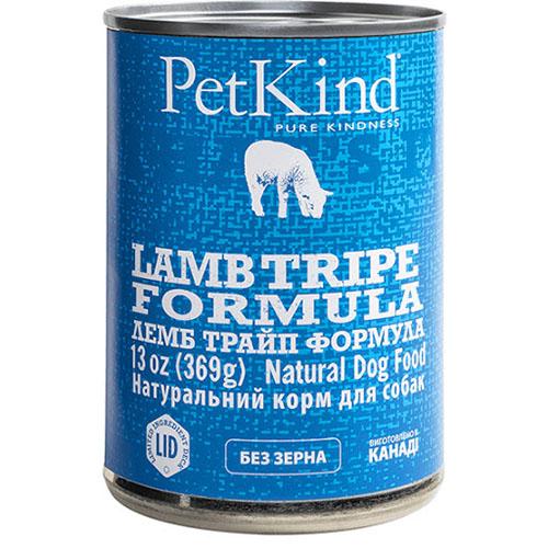 PETKIND Ламбо ТРАЙП ФОРМУЛА консервы для собак с новозеландским ягненком, мясом канадской индейки