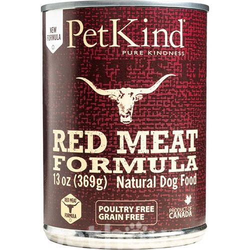 PETKIND РЕД МИТ ФОРМУЛА консервы для собак с говядиной, рубцом и ягненком