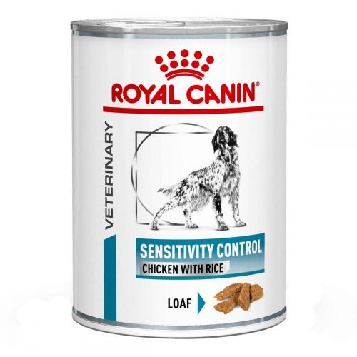 Royal Canin Sensitivity Canine Chicken Cans - диетические консервы Роял Канин с курицей