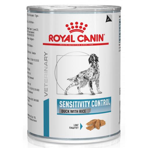 Royal Canin Sensitivity Control - диетические консервы Роял Канин с уткой