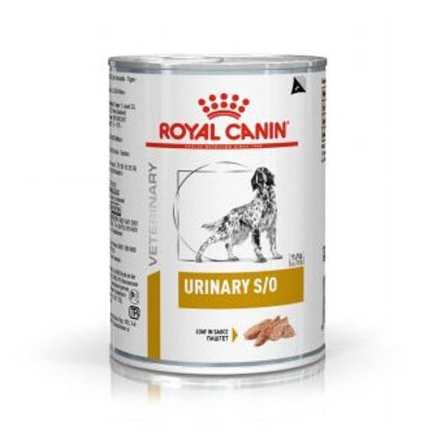 Royal Canin Urinary S/O - консервы Роял Канин при мочекаменной болезни у собак