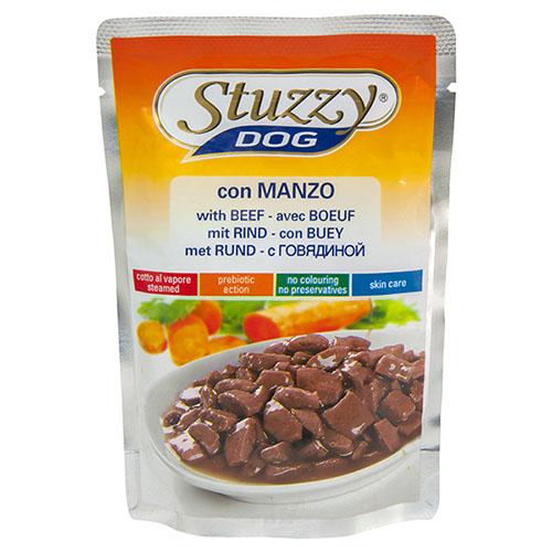 Stuzzy Dog Beef ШТУЗИ ДОГ ГОВЯДИНА в соусе корм для собак