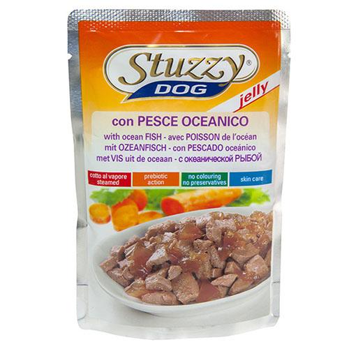 Stuzzy Dog Ocean Fish ШТУЗИ ДОГ ОКЕАНИЧЕСКАЯ РЫБА в желе корм для собак с треской