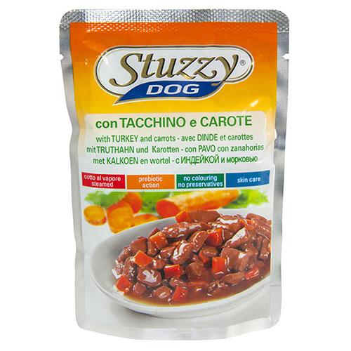 Stuzzy Dog Turkey Carrot ШТУЗИ ДОГ ИНДЕЙКА МОРКОВЬ в соусе корм для собак