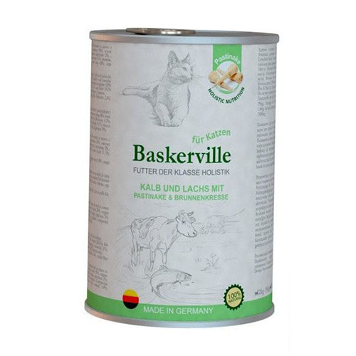 Baskerville KF Holistic Kalb und Lachs.Телятина и лосось для кошек