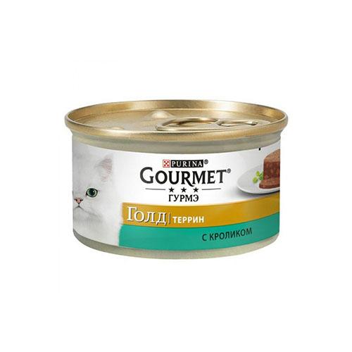 Gourmet Gold (Гурмет Голд) с кроликом, Паштет для кошек