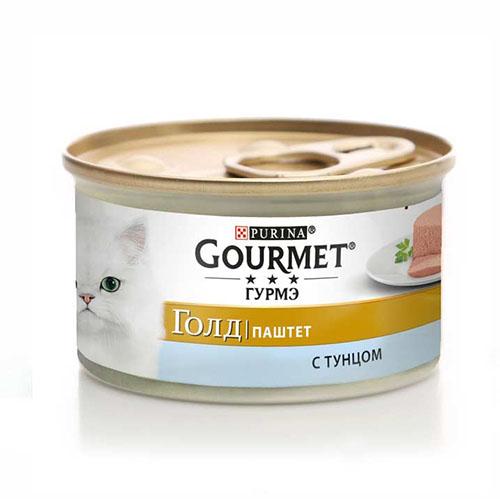 Gourmet Gold (Гурмет Голд) с тунцом Мусс консерва для кошек