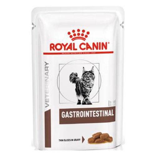 Royal Canin Gastro-Intestinal Feline Pouches - корм Роял Канин при нарушении пищеварения