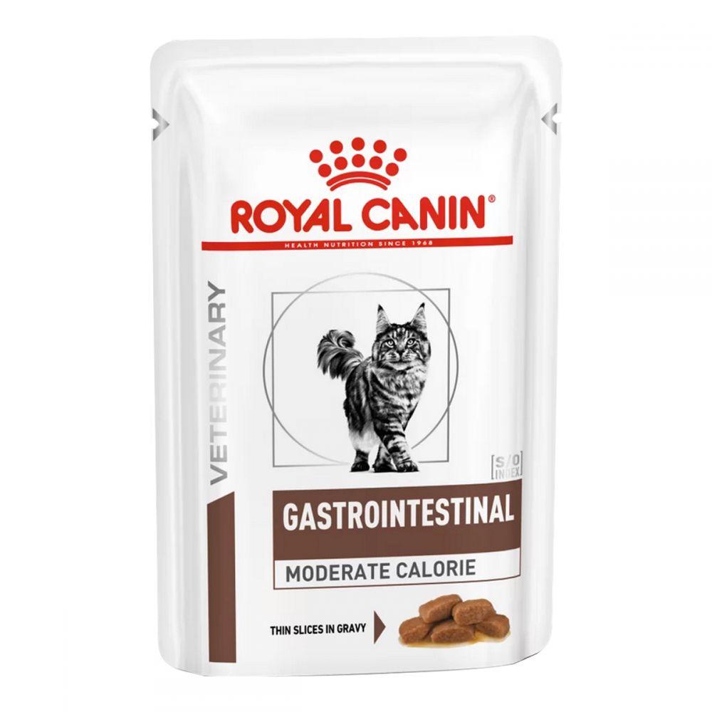 Royal Canin Gastro Intestinal Moderate Calorie - корм Роял Канин при нарушениях пищеварения у кошек
