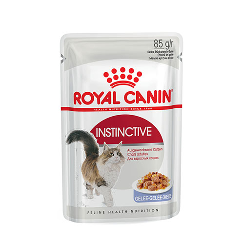 Royal Canin Instinctive in Jelly - корм Роял Канин для взрослых кошек