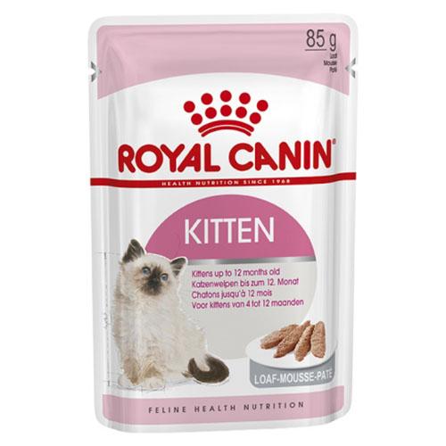 Royal Canin Kitten Loaf - корм Роял Канин паштет для котят