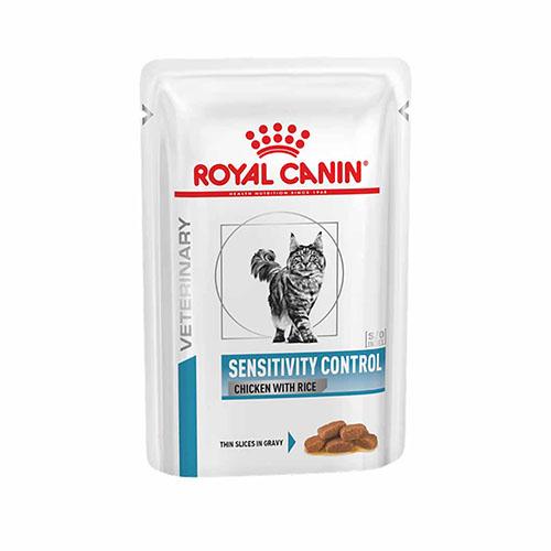 Royal Canin sensivity control - корм Роял Канин для кошек и котов при  пищевой аллергии с курицей