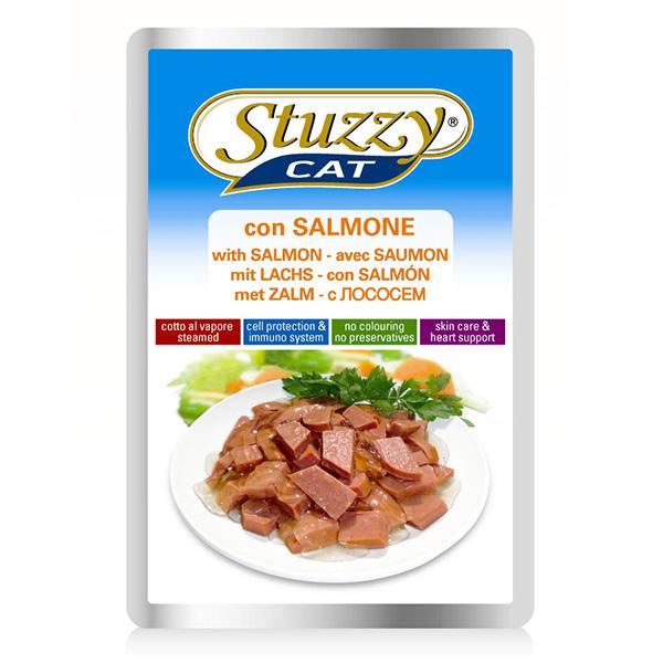 Stuzzy Cat Salmon ШТУЗИ КЕТ ЛОСОСЬ в соусе корм для кошек